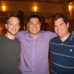 CIMG7809 - Jeremy Shapiroand, Sean Carpenter and I