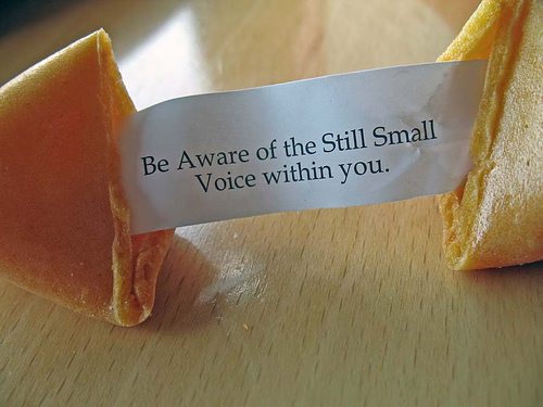 small voice
