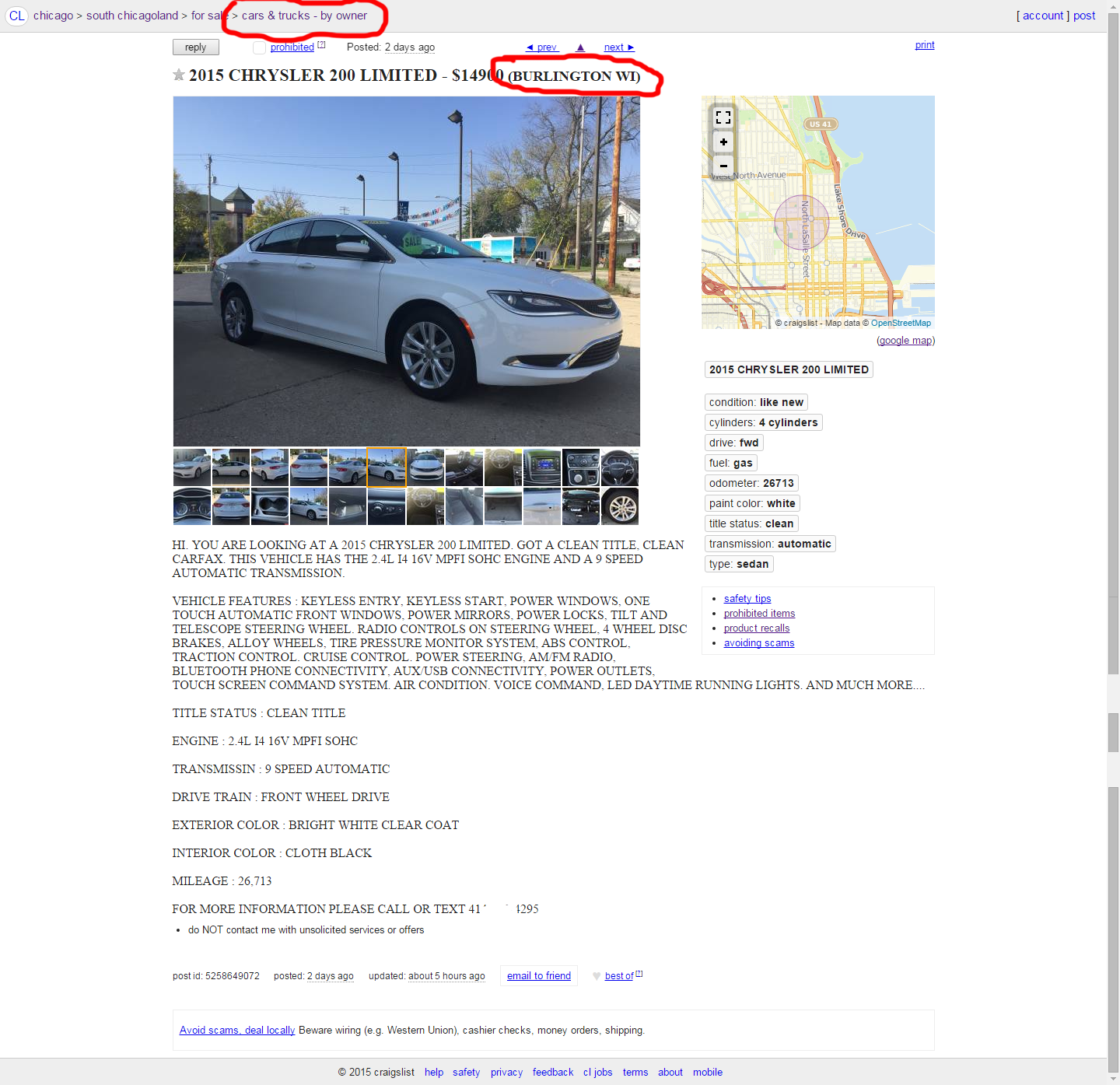Used Car Buying Scams  Craigslist By Owner Part 1  ChaffeeThanh